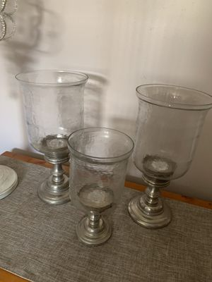 Beautiful Pier 1 various decorative candle holders $50 obo for Sale in Duryea, PA