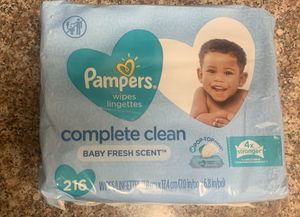 Pampers baby wipes for Sale in Whittier, CA
