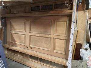 Solid Mahogany Entry Door for Sale in Hamden, CT