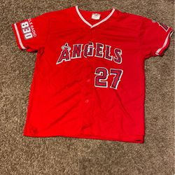 Mike Trout Baseball Jersey for Sale in Bakersfield,  CA