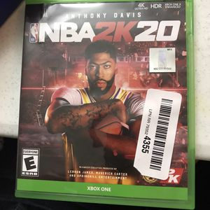 Xbox one NBA 2k20 for Sale in Houston, TX