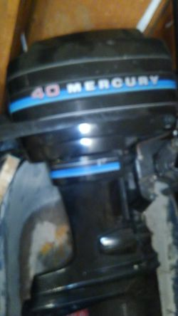 40hp mercury 97 for Sale in East Wenatchee,  WA