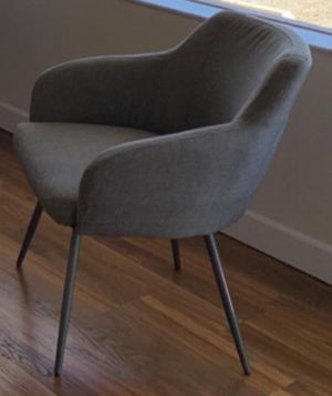 New!! Guest Chair, Furniture,Lounge Chair,Upholstered Chair-Gray for Sale in Phoenix, AZ