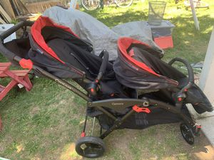 Contours double stroller with car seat base for Sale in Denver, CO