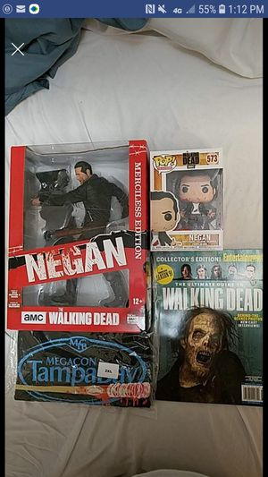 Negan Walking Dead package for Sale in New Port Richey, FL