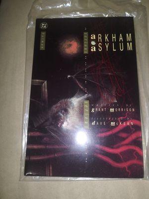 Batman arkham asylum HC 1989 DC 1st edition for Sale in Lakeland, FL