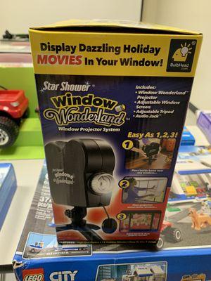 Star shower window wonderland movie projector for Sale in Medley, FL