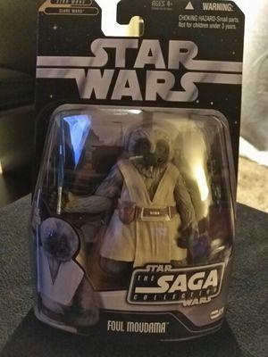 Star Wars Saga Collection Foul Moudama. for Sale in Dallas, TX