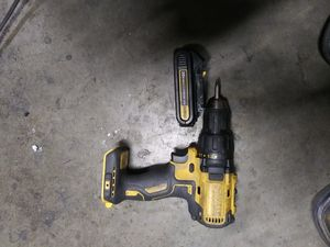 dewalt drill and battery 20v no charger for Sale in Anaheim, CA
