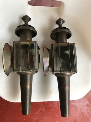 Two hand lanterns very antique for Sale in Miami Gardens, FL