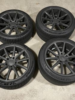 "Set of Michelin Pilot Sport Cup 2 Tires On 19"" Wheels for Sale in Renton,  WA"