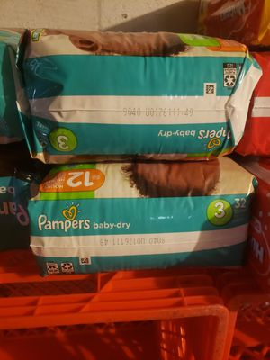 Pampers size 3 for Sale in Pittsburgh, PA