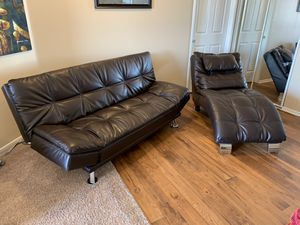 Action Futon and Matching Chaise Set for Sale in Paramount, CA
