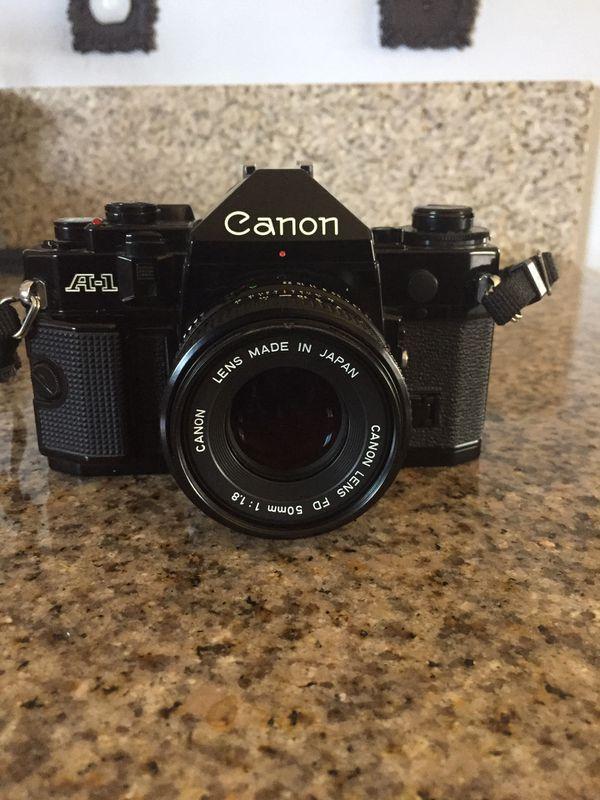 Canon A-1 35 mm film camera