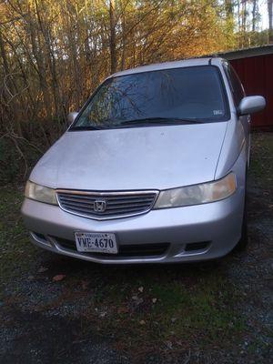 2001 Honda odyssey for Sale in Miles, VA