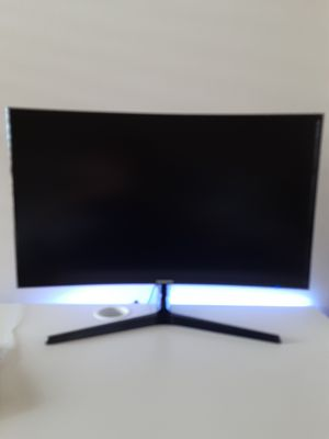 Saumsung curved 27 inch monitor for Sale in Allen, TX