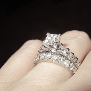 Engagement Ring and Wedding Band for Sale in Murfreesboro, TN