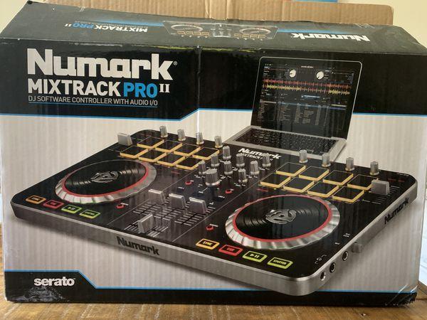 Numark MixTrack Pro II DJ set