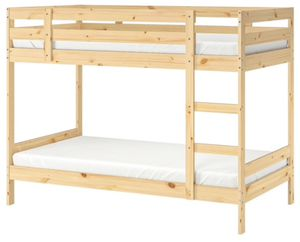 Bunk bed - wood for Sale in Pacifica, CA