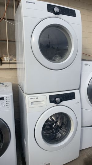 Samsung stackable washer and dryer set@delivery available for Sale in Phoenix, AZ