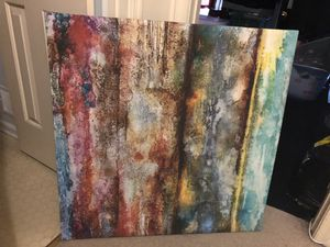 """Wall Art Canvas 2 - 35"""" W x 35"""" H x 1.5"""" D for Sale in West Laurel, MD"""