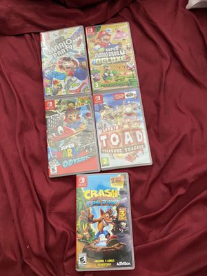 switch games (read desc.) for Sale in Kennesaw, GA