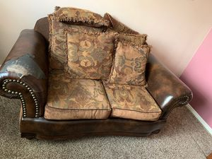 Couch is nice and comfortable but have some damage for Sale in Salem, UT