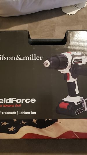 Wilson and Miller 20volt hammer drill for Sale in Mesa, AZ