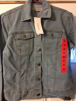 Ladies Calvin Klein Denim Jacket - New for Sale in Richmond Heights, MO