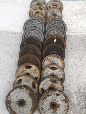 115lbs of standard weights for Sale in Seffner, FL