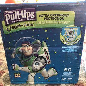 PULL UPS DIAPER (BOYS) 3T-4T for Sale in San Jose, CA