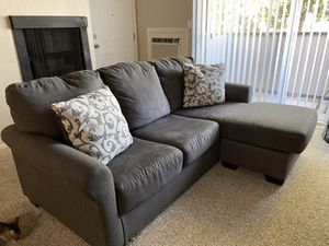 Gray Sectional - Ashley's Furniture for Sale in Stockton, CA