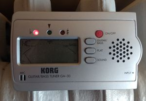 Korg Guitar and Bass Tuner GA-30 for Sale in NJ, US
