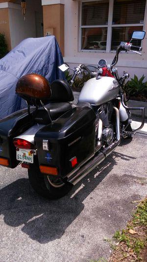 Honda Shadow Spirit 1100. Low miles 18,000 very good condición. Ready to go for Sale in Miami, FL