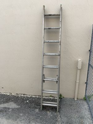 Werner 16 Foot Extension Ladder - PRICE IS FIRM for Sale in Oakland Park, FL