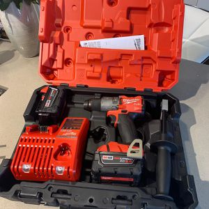 Brand New Whit 2 Batteries 5.0ah And Charger And Hard Case for Sale in San Antonio, TX