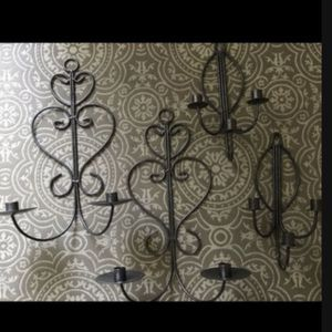 Wall candle holders for Sale in Hollywood, FL
