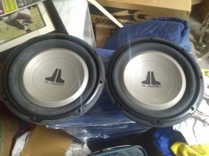 10 inch JL Audio bass woofer like new for Sale in Chandler, AZ