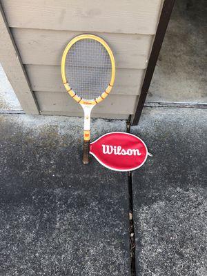 Vintage Wilson Tennis racket for Sale in Portland, OR