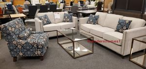Gorgeous modern sofa set, sofa $399 for Sale in Buena Park, CA