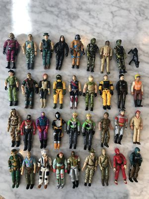 GI Joe Action Figures Vintage + Loads of Weapons for Sale in Naperville, IL