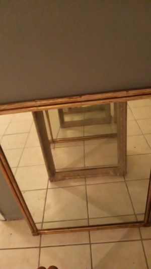 Big antique mirror for Sale in Houston, TX