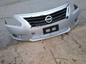 2013 to 15 Nissan Altima Front bumper and Crome grill for Sale in Piedmont, SC