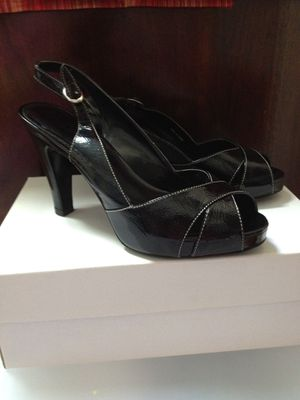 High heel black shoes. NEW for Sale in Chantilly, VA