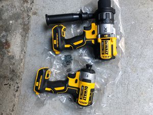 Dewalt drills DCD796 AND DCF887 for Sale in Seattle, WA
