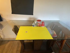 Glass table for Sale in Baltimore, MD