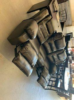 🔥Best Price Brand🆕️ Vacherie Black Reclining Sofa byAshley G456👆IN STOCK👆 for Sale in Arlington,  VA