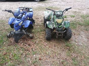 Four wheeler 110cc for parts or rebuild for Sale in Houston, TX