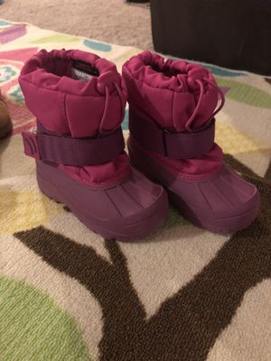 Kids snow boots- Size 9/10. for Sale in Fairfax, VA