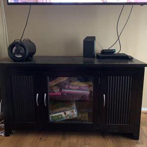 Black Tv Stand for Sale in Vista, CA